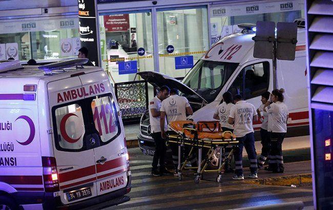 Фото: теракт в аэропорту Стамбула