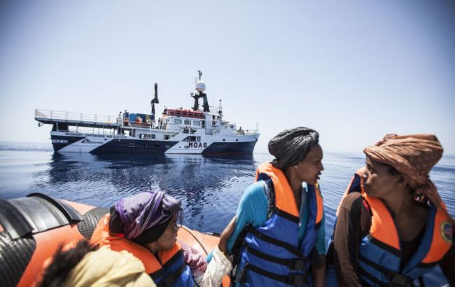 Фото: фрегат чергував у рамках операції європейського агентства з охорони зовнішніх кордонів Frontex