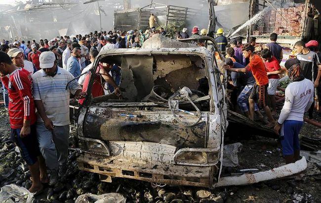 Фото: кількість постраждалих в результаті терактів в Багдаді зростає