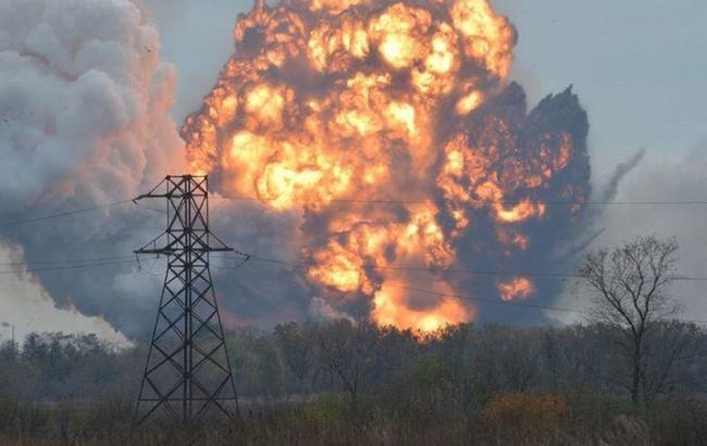 Фото: поблизу Бахмута Донецької області підірвався місцевий житель