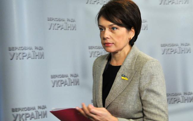 Фото: міністр освіти Лілія Гриневич
