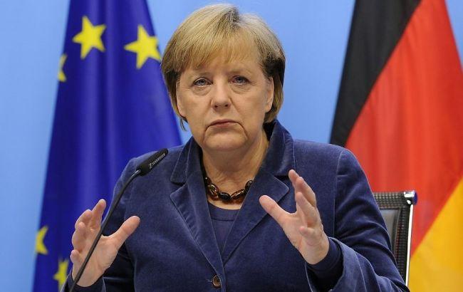Фото: канцлер ФРН Ангела Меркель чекає від біженців в країні готовності до адаптації