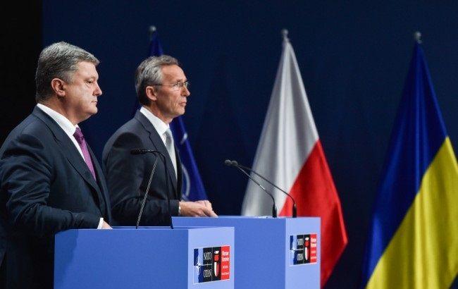 Фото: Порошенко и Столтенберг дали общую пресс-конференцию