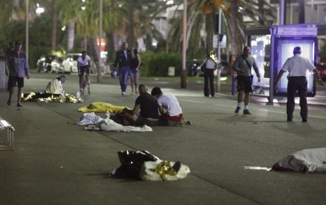 Теракт в Ніцці: опубліковано відео перестрілки поліції з терористом
