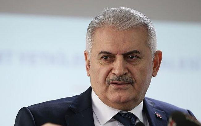Фото: премьер-министр Турции Бинали Йылдырым