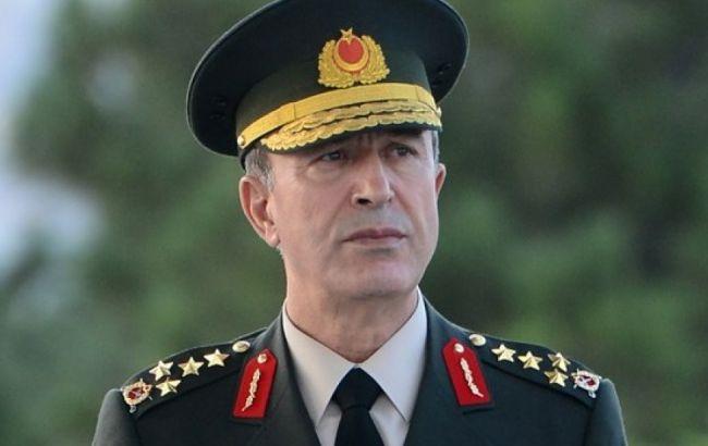 Фото: начальник генерального штаба ТурцииХулуси Акар