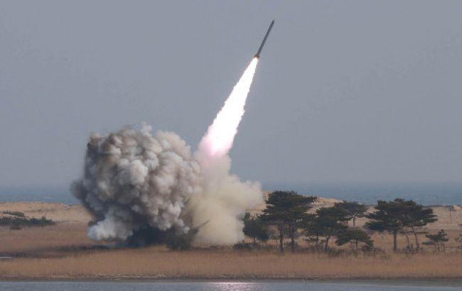 Фото: ракеты были выпущены на восточном побережье Северной Кореи