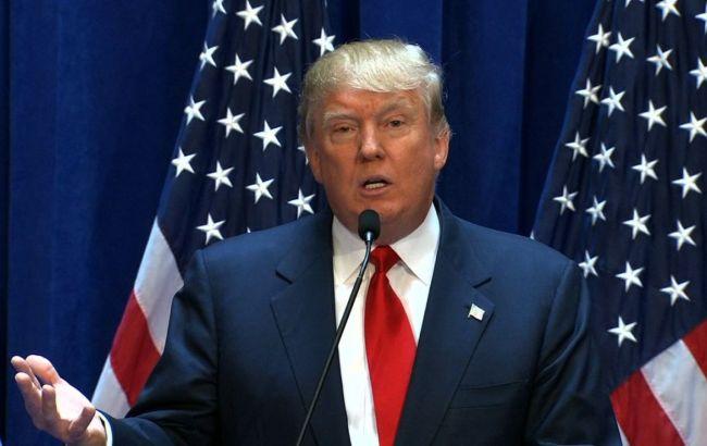 Фото: Трамп направлялся в аэропорт в Нью-Йорке, откуда должен был вылететь в Кливленд на республиканский партийный съезд