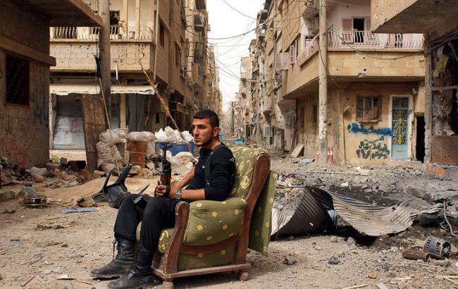 Фото: в Сирии оппозиция захватила штаб ИГИЛ