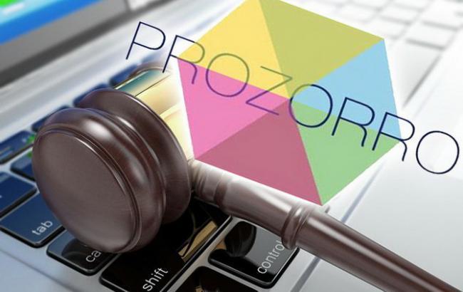 Фото: электронная система закупок ProZorro
