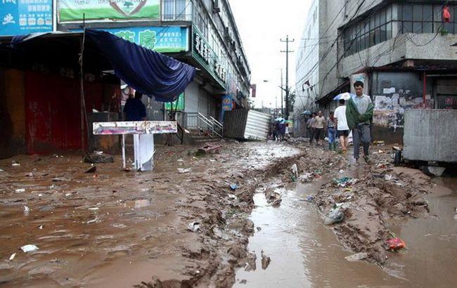 Фото: северные районы Китая продолжают страдать от наводнений