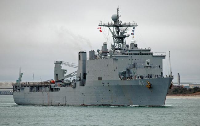 Фото: USS Whitbey Island LSD41