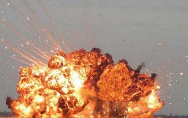 """Фото: сегодня будут устанавливаться причины взрыва на базе """"Укроборонпрома"""""""