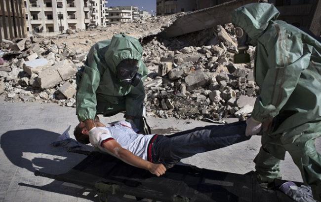 Фото: США вивчають повідомлення про можливу хіматаку в Сирії