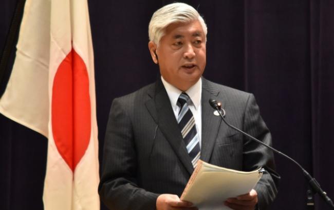 Фото: глава Міноборони Японії розповів, де впала балістична ракета КНДР