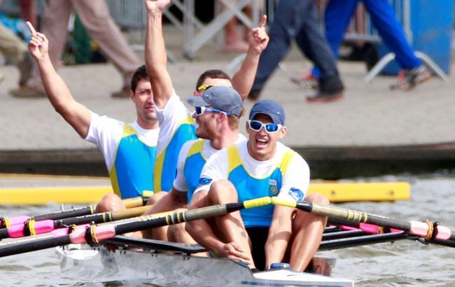 Фото: украинские мужской и женский экипажи по академической гребле вышли в финал Рио-2016