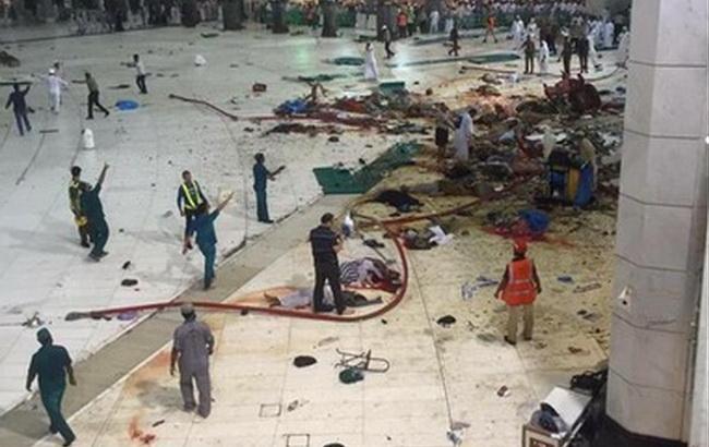 Фото: Нещасний випадок у Мецці