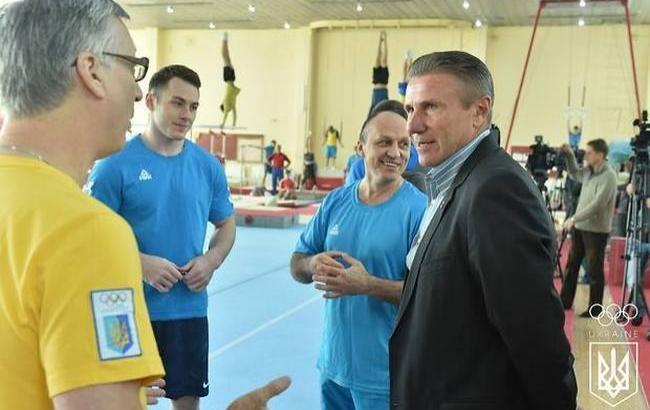 Фото: НОК договорился о передаче Украине олимпийского гимнастического оборудования