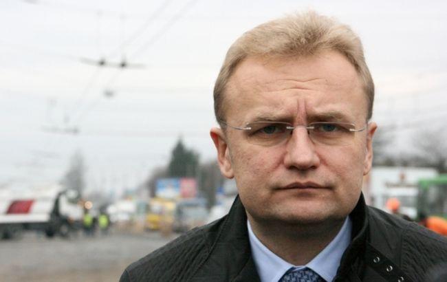 Фото: городской глава Львова Андрей Садовой