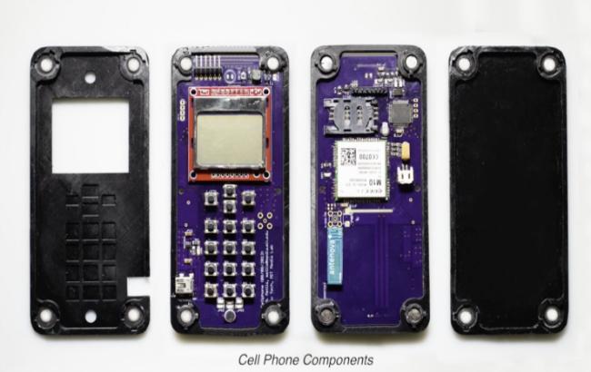 ВСША создан самособирающийся телефон