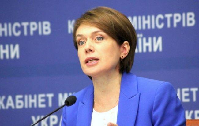 Фото: министр образования и науки Украины Лилия Гриневич