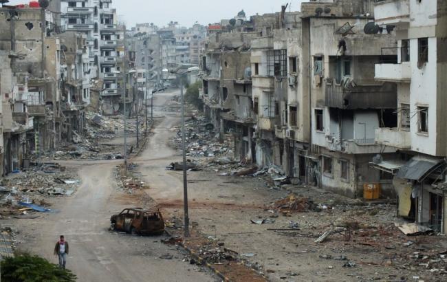 Фото: в Сирии войска Асада вошли в пригород Дамаска