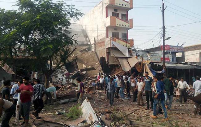 Фото: Взрыв в Индии