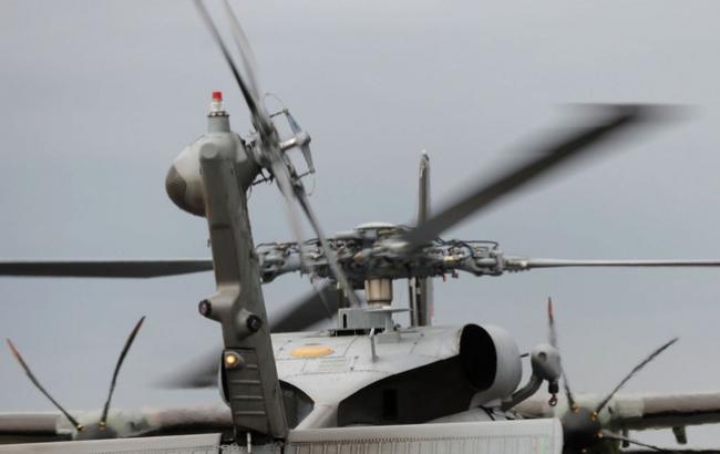 Фото: крушение вертолета в Канаде
