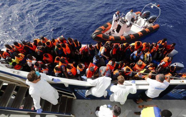 Фото: мигранты из северной Африки