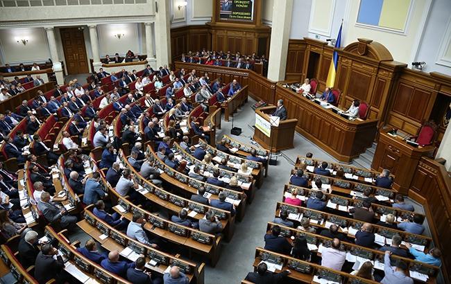 У перший робочий день депутати слухали президента і будували плани