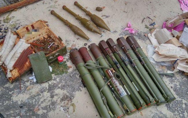 Фото: найденные гранатометы