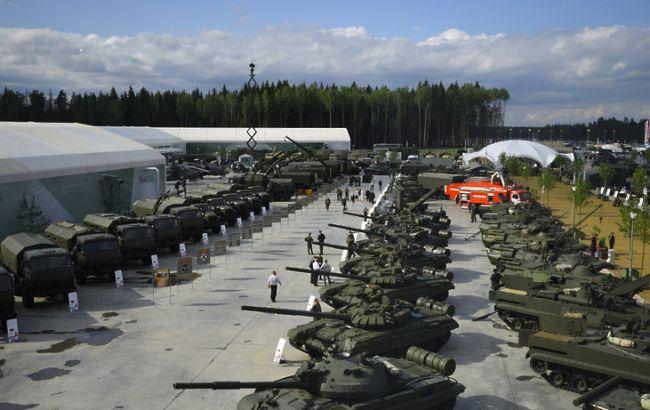 """Фото: військово-технічний форум """"Армія-2016"""" у Росії"""