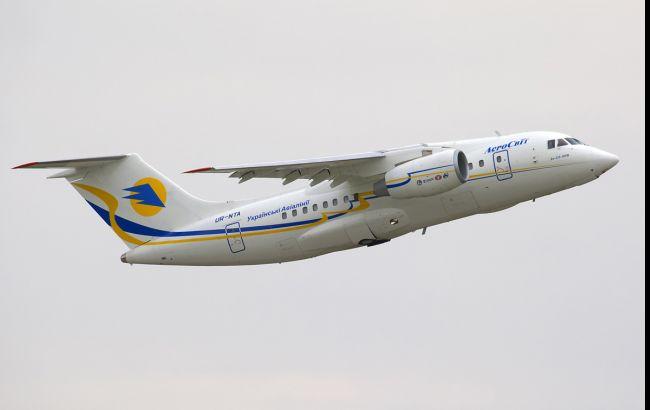Фото: український літак Ан-148