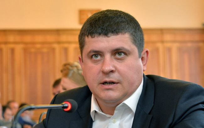 """Фото: голова фракції """"Народний фронт"""" Максим Бурбак"""