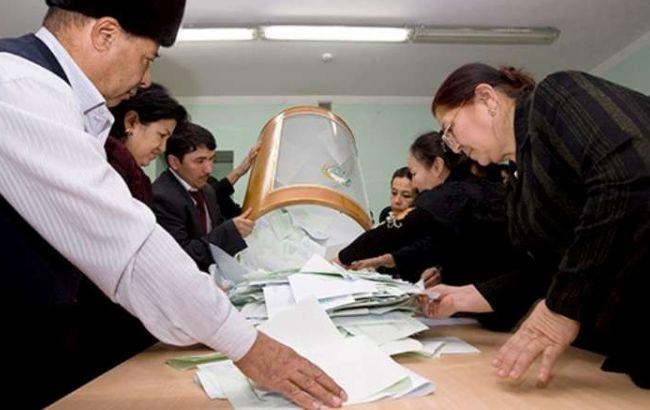 Фото: президентские выборы в Узбекистане