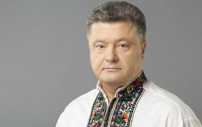 Фото: президент поздравил Киев с победой в оборе города-хозяина Евровидения