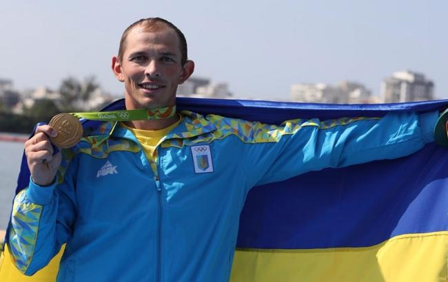 Фото: Олімпійський чемпіон Ріо 2016 Юрій Чебан (НОК)