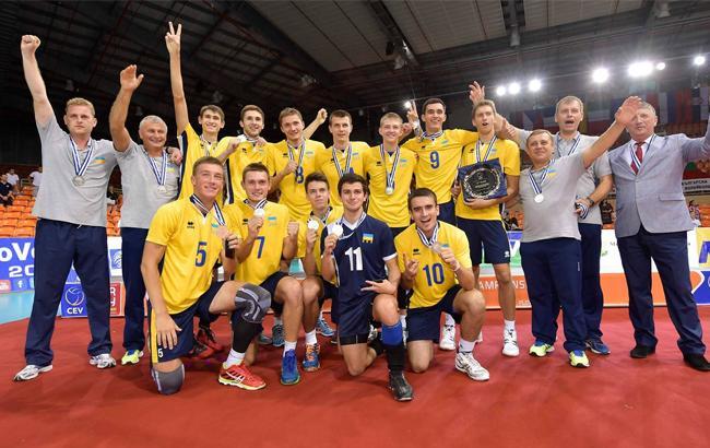 Фото: Молодежная сборная Украины по волейболу (cev.lu)