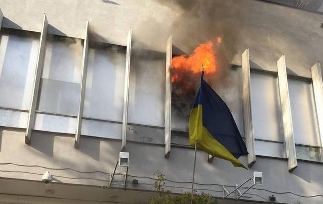 "Фото: Пожар на ""Интере"" (online.ua)"