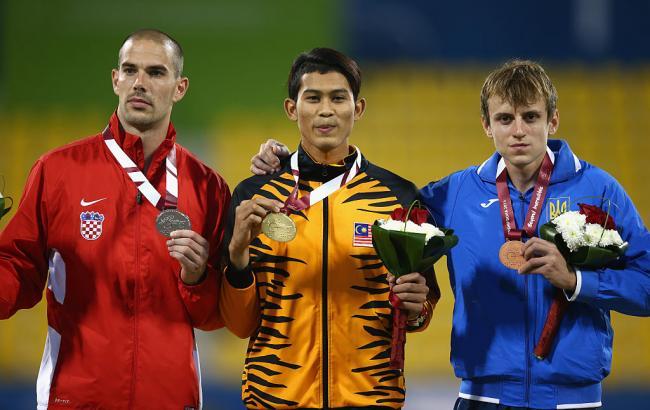 Фото: легкоатлет Дмитро Прудников завоював бронзову медаль на Паралімпіаді-2016