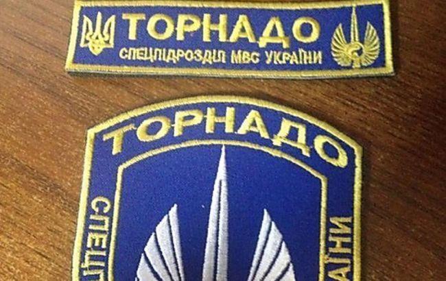 "Фото: рота спецназначения МВД Украины ""Торнадо"""
