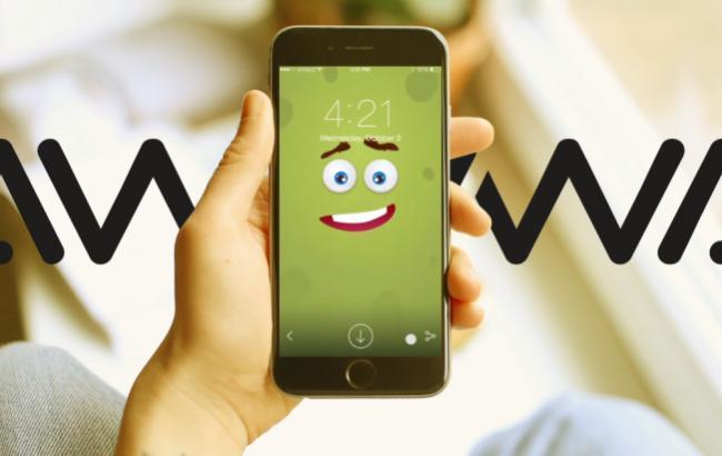 Фото: Интерактивные заставки для iPhone (скриншот)
