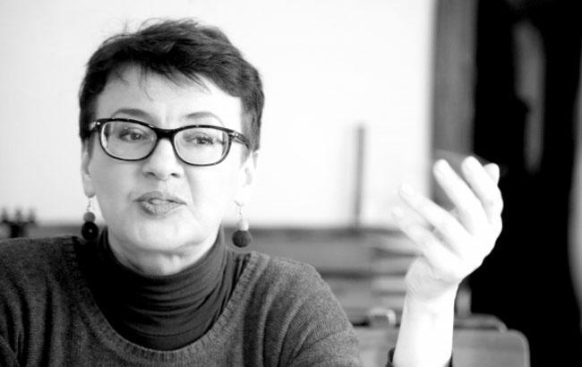 Фото: Оксана Забужко (Сергей Старостенко)