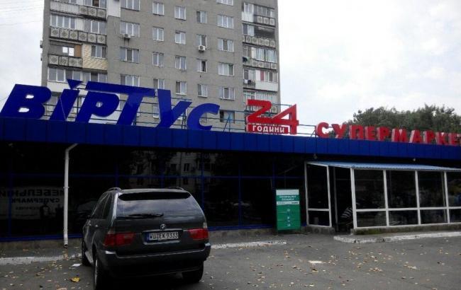 Фото: Захват магазина на Одесчине (usionline.comt)