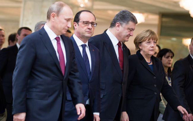 """Олланд повідомив про проведення зустрічі """"нормандської четвірки"""" в найближчому часі"""