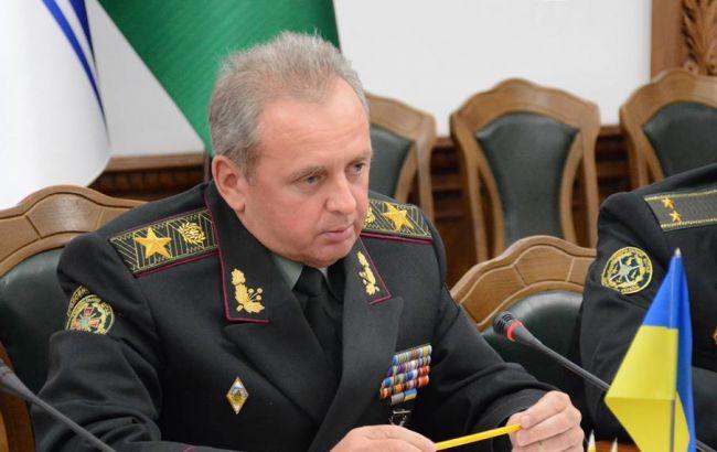 Фото: голова Генштабу ЗСУ Віктор Муженко