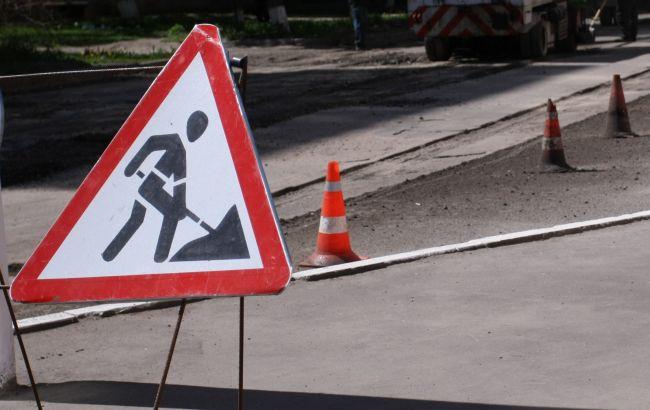Фото: ремонт доріг у Києві