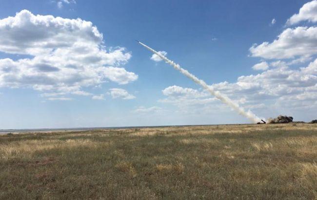 Фото: Україна провела випробування ракети