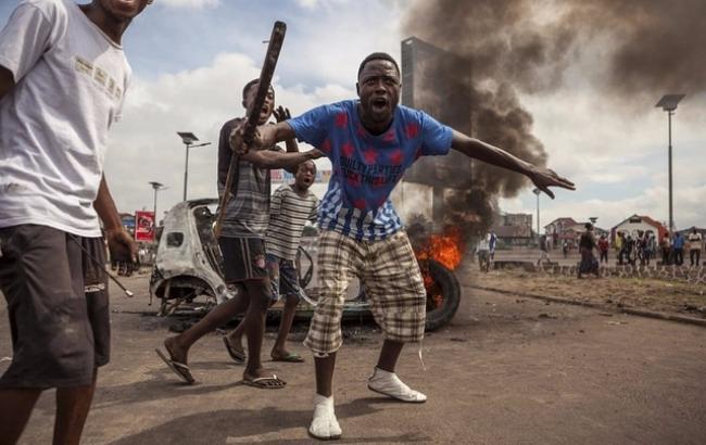 Фото: в Конго снова произошли столкновения