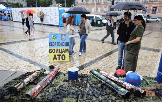 Фото: Допомогу бійцям АТО (Styler.rbc.ua)